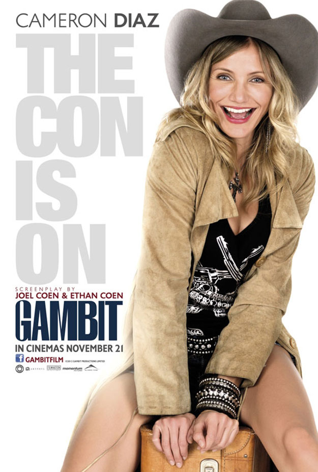 Cameron Diaz Gambit Poster skip crop