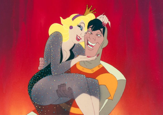 Don bluth goes kickstarter for dragon s lair the movie for Dragon s lair