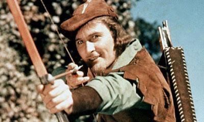 Errol Flynn in Robin Hood