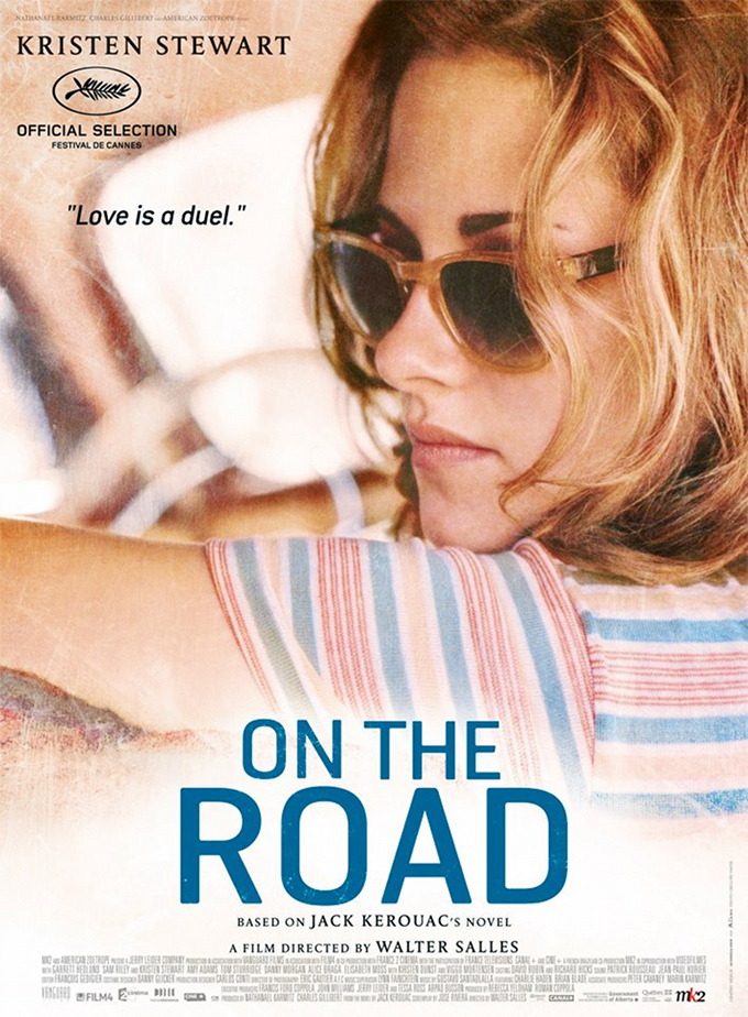 On The Road Kristen Stewart Poster