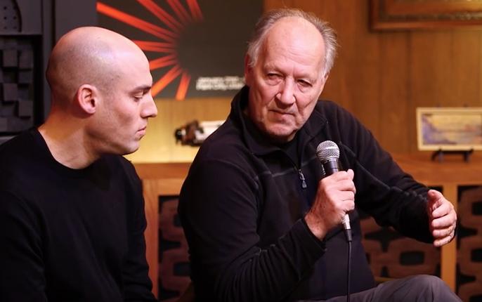 Joshua Oppenheimer and Werner Herzog
