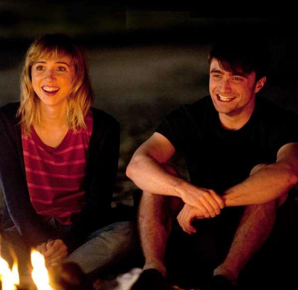 The F Word Zoe Kazan Daniel Radcliffe (skip crop)