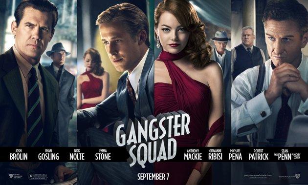 Gangster Squad Banner Poster