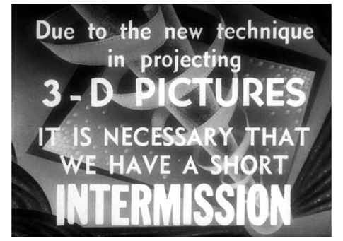 3-D Intermission Card-485