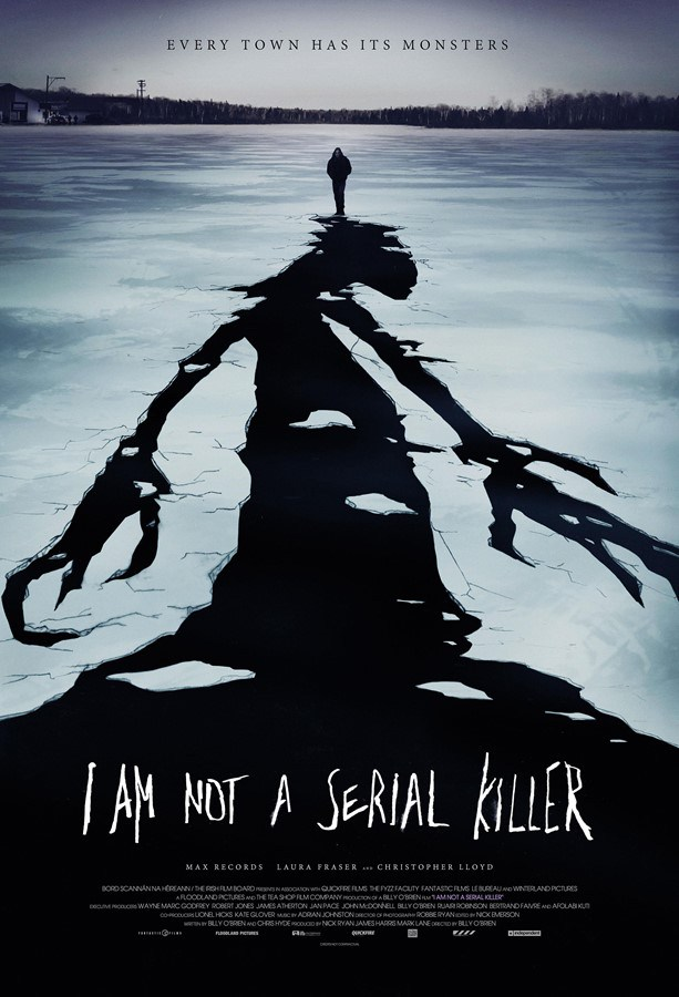 I Am Not A Serial Killer, poster