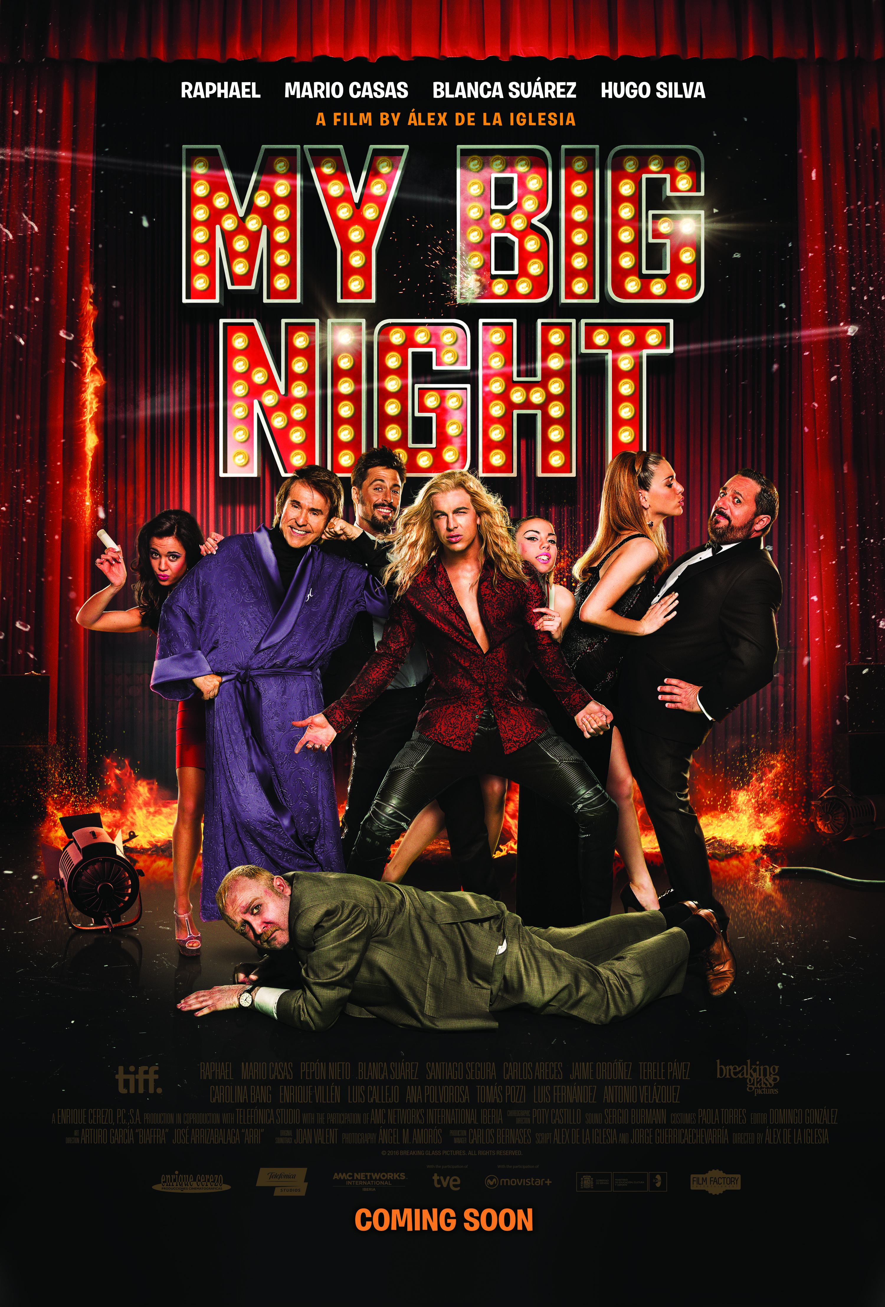 Comedic Mayhem is Unleashed in Exclusive 'My Big Night' Poster ...
