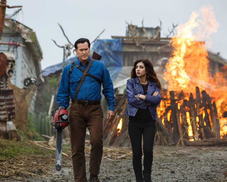 sam raimi and bruce campbell on refusing to compromise for ash vs evil dead and the state of modern horror indiewire