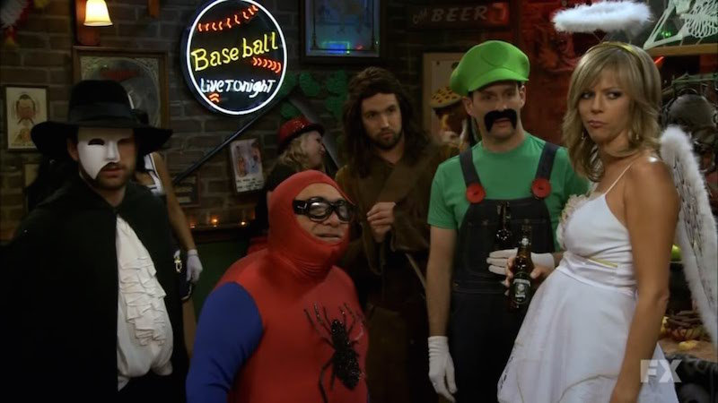 Ignoring the glorious Luigi mustache on Dennisu0027 face for a second letu0027s take some time to revel in a) the gangu0027s constant ridiculing of Dee for looking ...  sc 1 st  IndieWire & TV Halloween Costume Contest! 22 Characters Compete for Best Dressed ...