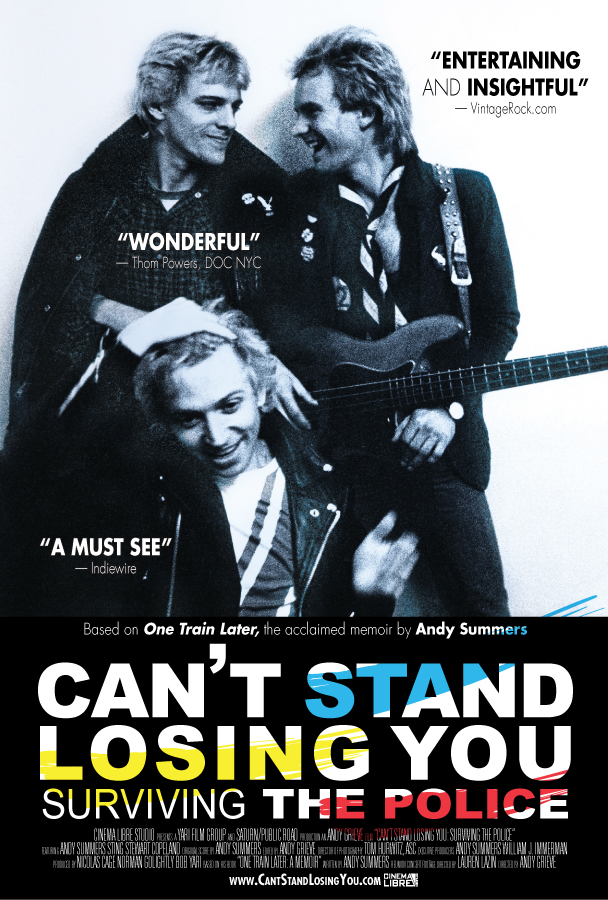 Resultado de imagen para the police andy summers documentary