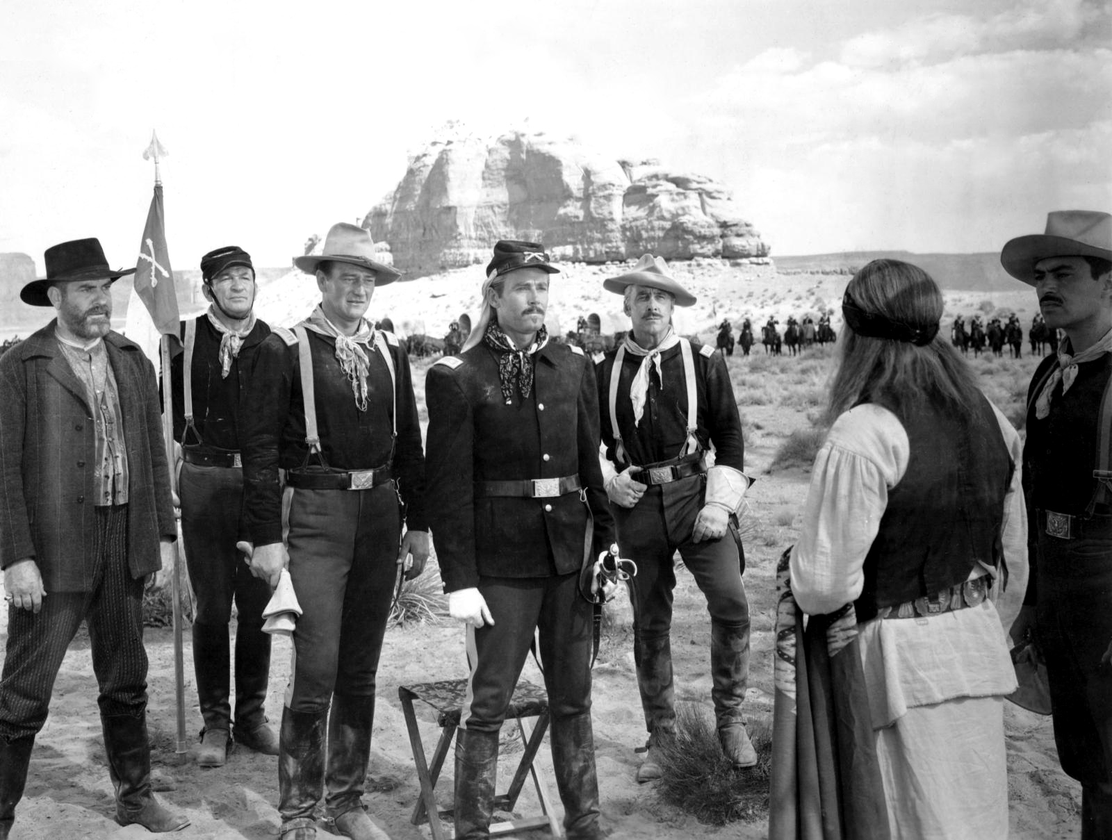 An examination of john fords film fort apache