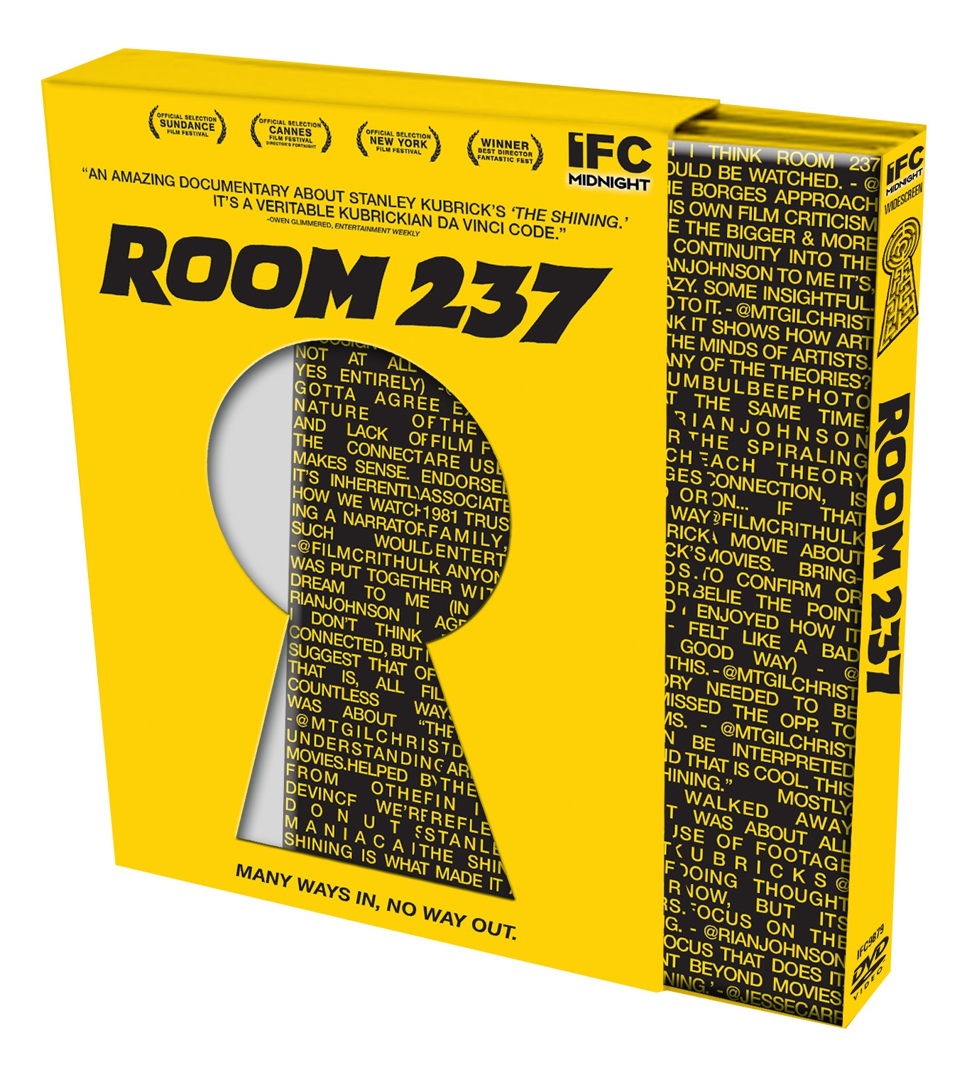 Read the Twitter Discussion That Became the DVD Cover for 'Room 237'