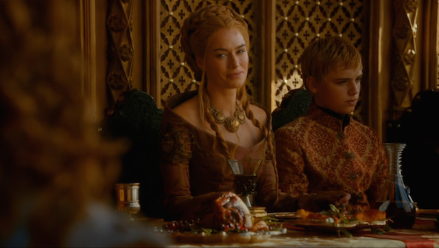 Game Of Thrones Purple Wedding.Game Of Thrones Purple Wedding A Symphony In Side Eye Indiewire