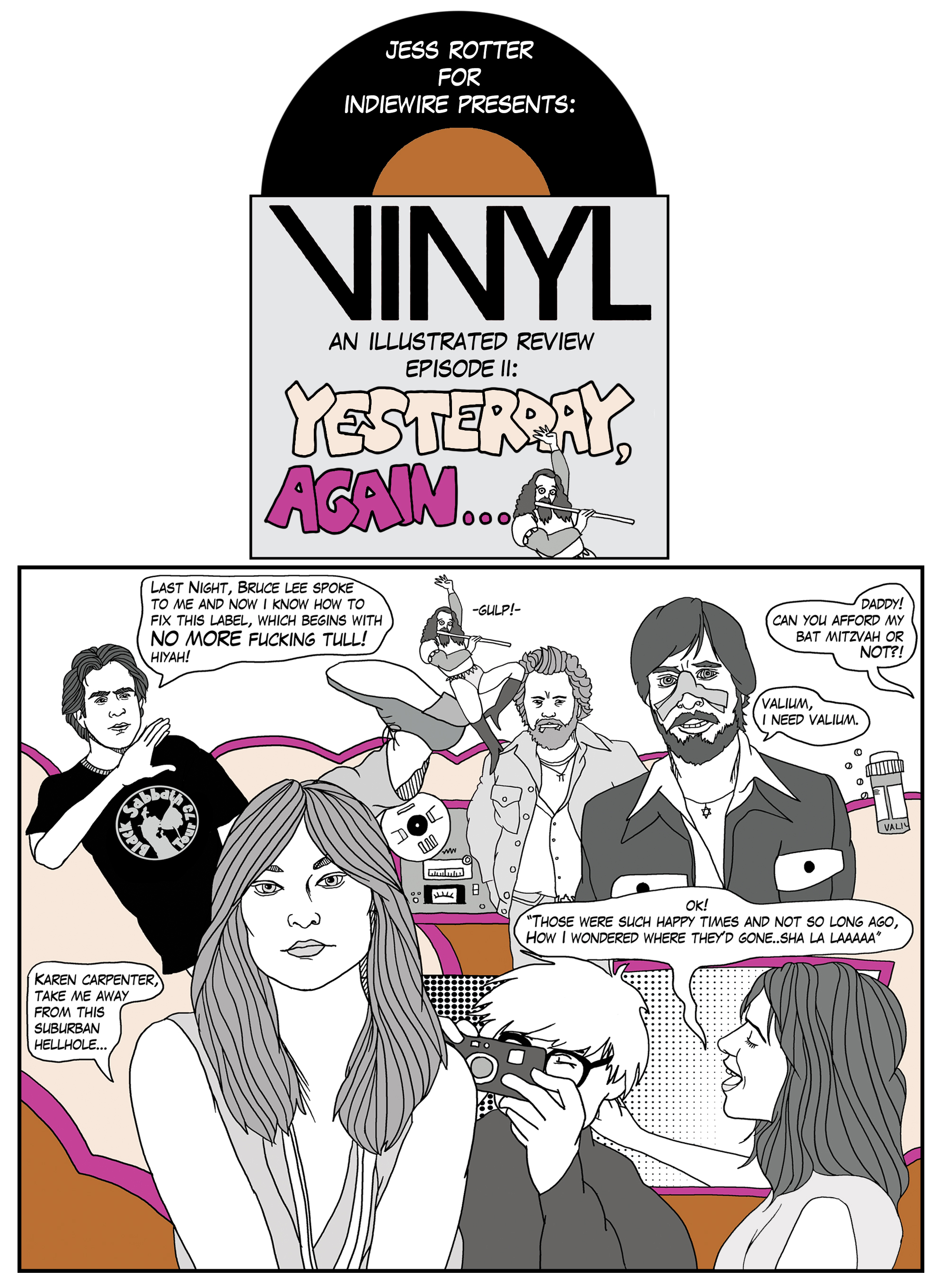 HBO\'s \'Vinyl\': An Illustrated Review of Season 1 Episode 2 ...