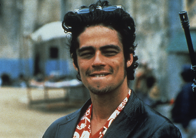 Benicio Del Toro Talks 'Sicario,' Shooting An Alternate