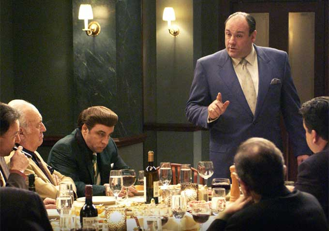 How the Burdens of Being Tony Soprano Wore on James