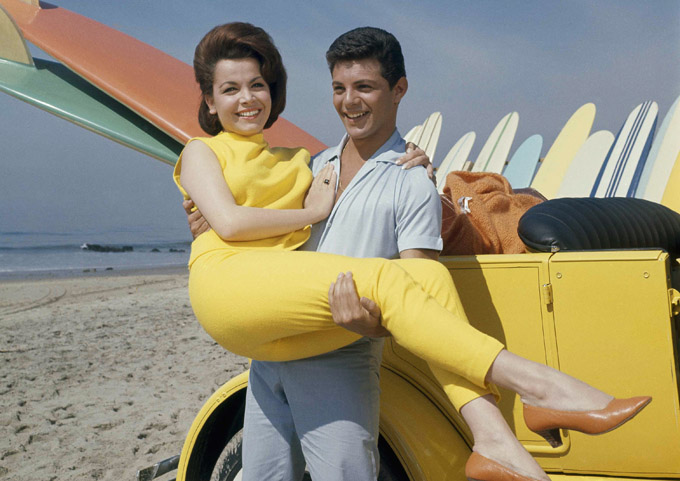 """annette funicello beach movies - of Elvis Presley's musical movies popular at the time, """"Beach Party"""" took  on a life of its own as the first in ..."""