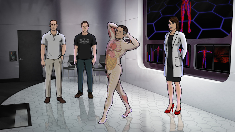 A Room Fit For An Archer: Review: 'Archer' Season 6 Episode 12, 'Drastic Voyage