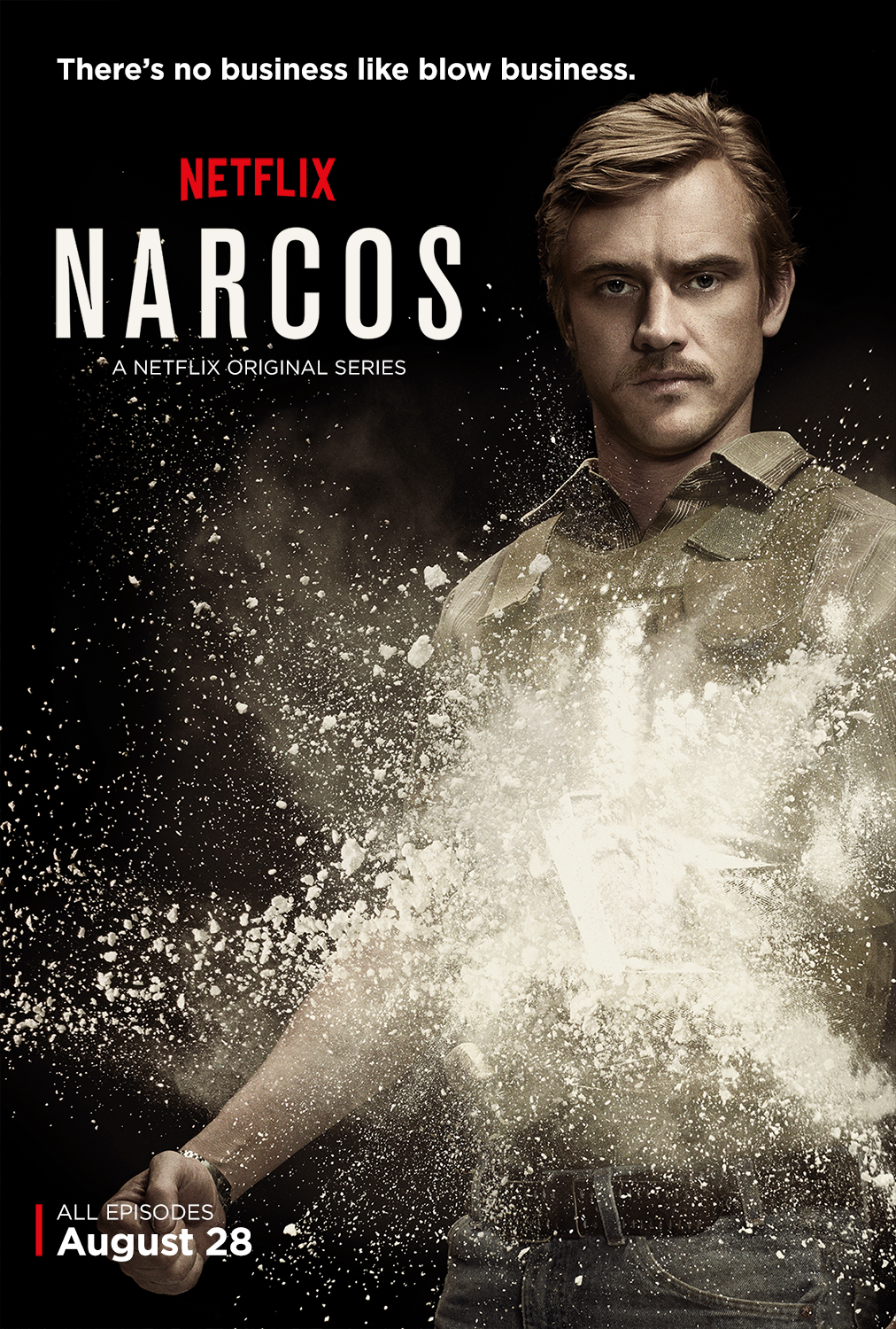 narcos burning series