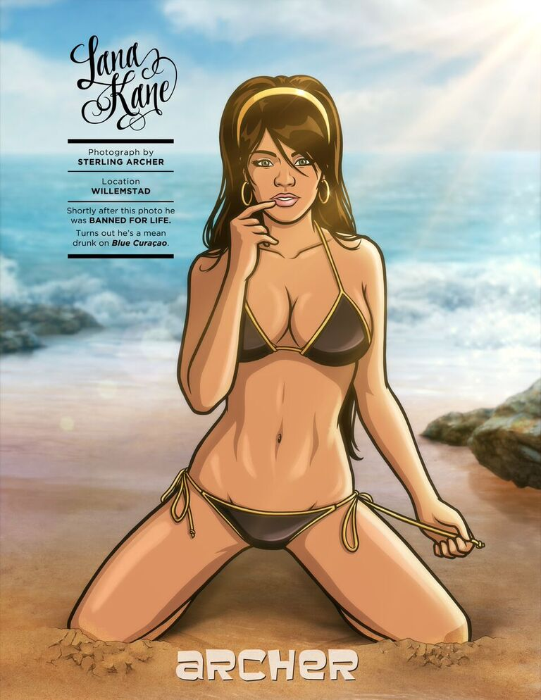 9f3dcbdd3e The Bodacious Babes of  Archer  Put Real Models to Shame in Sports ...